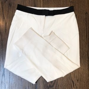 Ann Tay - Bow Waistband Ankle Pants